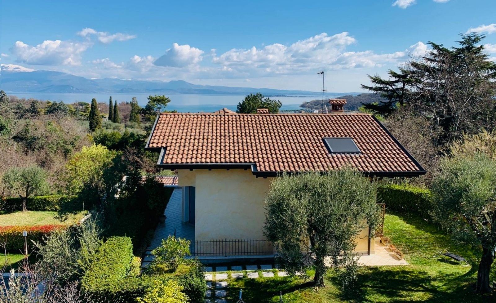 Villa in affitto privati vista lago Garda